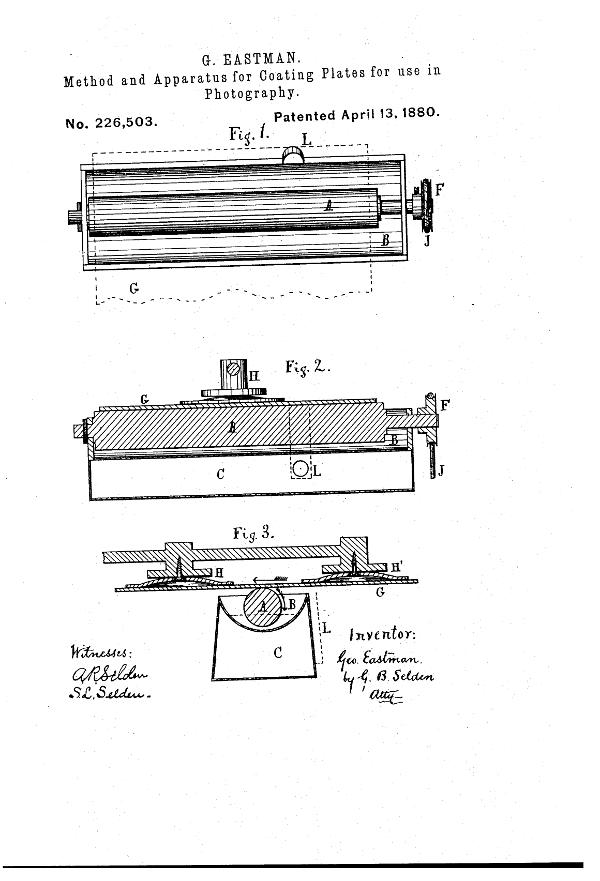 Patente Placas secas Eastman